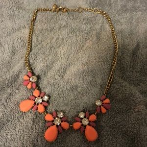 Pink and orange necklace